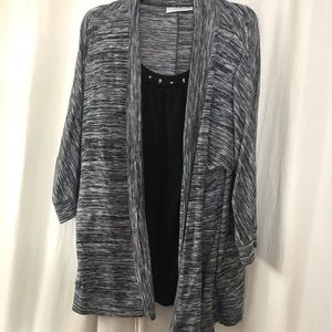 Beautiful Sweater With Attached Front Shirt
